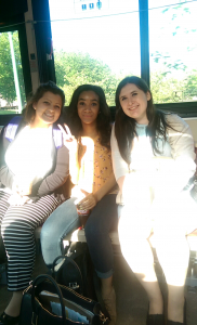 Bus ride home with the new roommates :)
