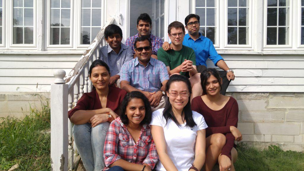 photo of the starai group members, Alexander took the photo